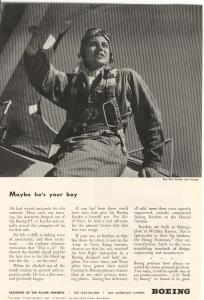 Boeing WWII Kaydet Trainer Ad w0137 (Image1)