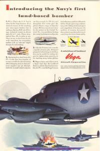 Lockheed  WWII PV-1 Bomber Ad (Image1)