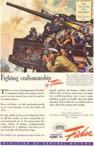 General Motors WWII Navy 5 Inch Gun Ad w0178 (Image1)
