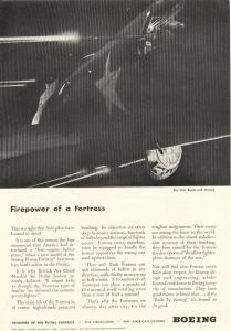 Boeing WWII Firepower of a Fortress Ad (Image1)
