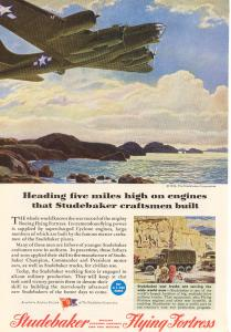 Studebaker Flying Fortress Engines Ad w0210 (Image1)
