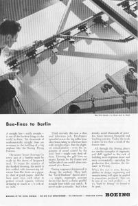 Boeing WWII Beelines to Berlin Ad w0294 (Image1)