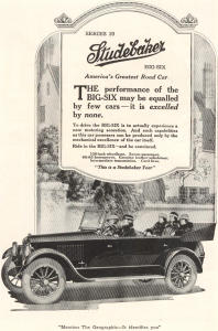 1920 Studebaker  Series 20 Ad w0354 (Image1)