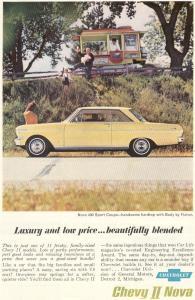 Chevy Nova II 400 Sport Coupe Ad (Image1)