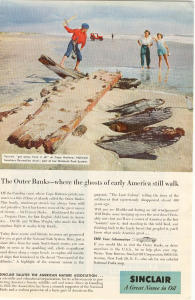 Sinclair Oil Outer Banks Ad W0381