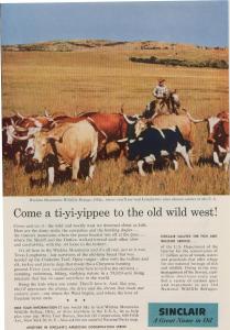 Sinclair Oil Wichita Mountain Refuge Ad w0387 (Image1)