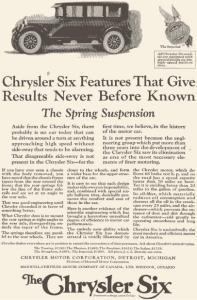 1924 Chrysler Six Ad (Image1)