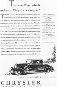 1930 Chrysler 77 Royal Coupe Ad (Image1)