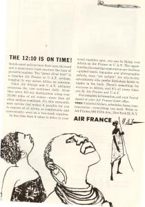 Air France UAT Airline Ad (Image1)
