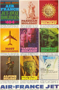 Air France Jet Away Holidays Ad W0459