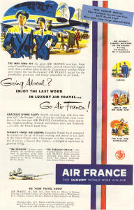 Air France Ad 1952 (Image1)