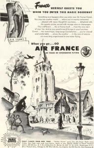 Air France Magic Doorway Ad W0469