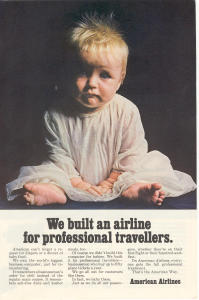 American Airlines Customer Service Ad W0476
