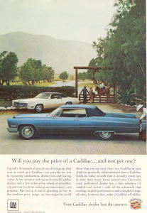 1967 Cadillac  2-Door Hardtop Ad (Image1)