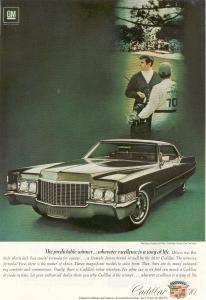 1970 Cadillac  Hardtop Sedan de Ville Ad (Image1)