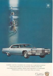 1969 Cadillac  Hardtop Sedan de Ville Ad (Image1)
