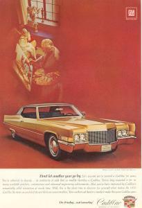 1970 Cadillac  Coupe de Ville Ad w0505 (Image1)