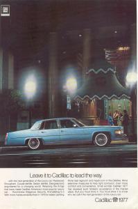 1977 Cadillac Fleetwood Brougham Ad w0509 (Image1)