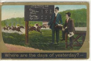 Where Are The Days Of Yesterday Postcard W0527