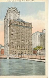 New York City Whitehall Building Postcard w0593 (Image1)