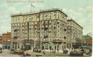 Toronto Ontario King Edward Hotel Postcard w0608 (Image1)
