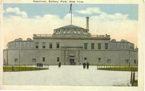 New York City Aquarium Postcard Battery Park (Image1)