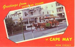Cape May NJ Victorian Village Postcard (Image1)