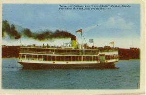 Quebec Ferry Louis Joliette Postcard w0653 (Image1)