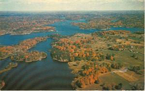Murphy s Narrows Whitefish Lake Ontario Canada Postcard w0726 (Image1)