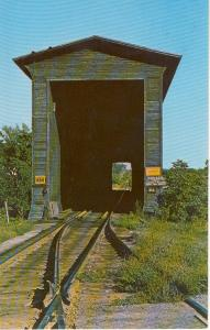 Swanton VT Old Railroad Bridge Postcard (Image1)