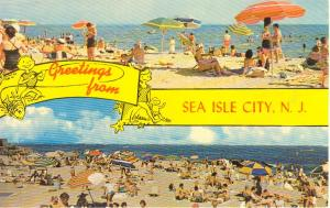 Sea Isle City NJ Postcard (Image1)