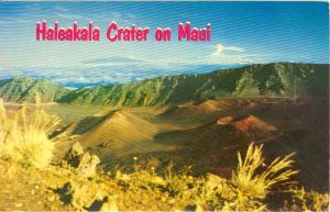 Maui Hawaii Haleakala Crater Postcard w0773 (Image1)