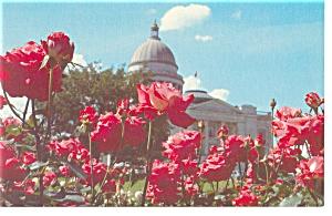 Arkansas State Capitol Postcard w0785 (Image1)