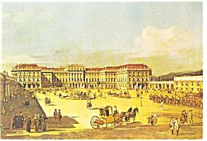 Vienna Austria Castle Schonbrunn Postcard w0821 (Image1)
