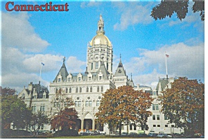 Hartford CT State Capitol Postcard w0823 (Image1)