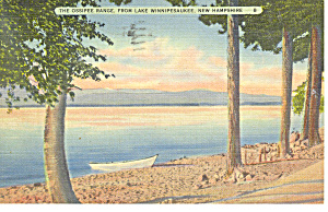 Ossipee Range From Lake Winnipesaukee ,NH Postcard (Image1)