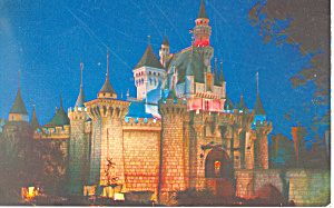 Sleeping Beauty s Castle Disneyland  CA Postcard w0860 (Image1)