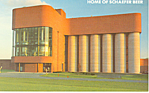 Home of Schaefer Beer Postcard (Image1)