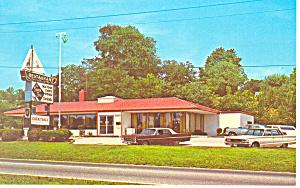 Seven Seas Restaurant Havre De Grace Maryland Postcard w0867 (Image1)