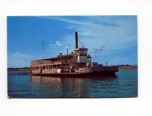 Mississippi River Ferry Boat Postcard x0014 (Image1)
