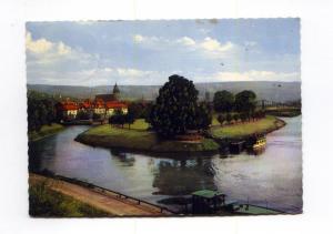 Hann. Munden Germany River Postcard x0039 (Image1)
