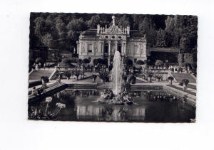 Linderhofe Castle Germany   Postcard (Image1)