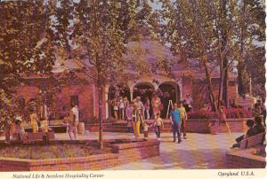 Opryland National Life Center Postcard (Image1)
