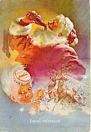 Coca Cola Santa Claus Ad Dec 1949