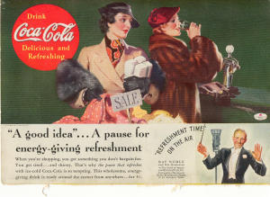 Coca Cola Ad Ray Noble Ca. 1935