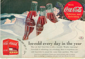 Coca Cola Ad Aug 1935