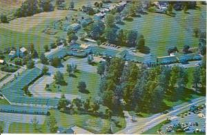 Colonial Motor Lodge Denver PA Postcard x0124 (Image1)