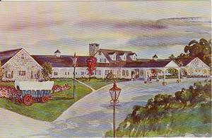 Sheraton Conestoga Motor Inn PA Postcard x0126 (Image1)