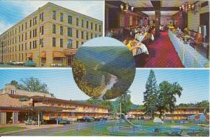 Penn-Wells Motor Hotel PA Postcard x0127 (Image1)