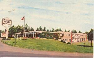 Charter House  Motor Hotel ME Postcard x0163 (Image1)